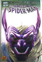 Amazing Spider-man #568 Dynamic Forces Alex Ross Negative Variant (2008) Marvel comic book